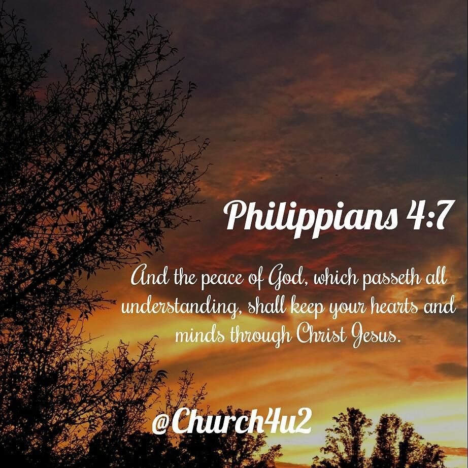 """Phillippians 4 6 7 Cast Your Cares Upon The: Philippians 4-7 """"And The Peace Of God, Which Passeth All"""